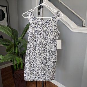 NWT Zara Trafuluc v-back shift mini dress